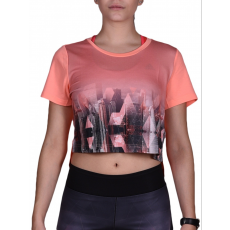 Adidas PERFORMANCE TOP PHOTO TEE FITNESS T SHIRT