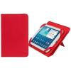 """RivaCase Univerzális táblagéptok, 7"""", állvány, RIVACASE """"GATWICK 3202"""" piros"""