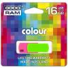 """Goodram Pendrive, 16GB, USB 2.0, 20/5 MB/sec, GOODRAM """"Colour"""""""