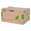 """ESSELTE Archiváló konténer, újrahasznosított karton, előre nyíló, ESSELTE """"Eco"""", barna"""