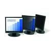 """3M Monitorszűrő, betekintésvédelemmel, 20,0"""", 443x250 mm, 16:9, 3M, fekete"""