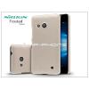 Nillkin Microsoft Lumia 550 hátlap képernyővédő fóliával - Nillkin Frosted Shield - golden