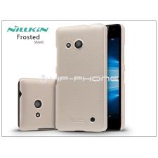 Nillkin Microsoft Lumia 550 hátlap képernyővédő fóliával - Nillkin Frosted Shield - golden tok és táska