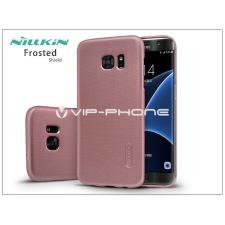 Nillkin Samsung G935F Galaxy S7 Edge hátlap képernyővédő fóliával - Nillkin Frosted Shield - rose gold tok és táska
