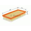 Bosch 1457433089 Levegőszűrő FORD GALAXY, SEAT ALHAMBRA, VW SHARAN