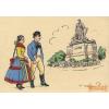 Délvidéki Egyetemi és Főiskolai Hallgatók Egyesülete Nagybecskerek - Kiss Ernő szobra