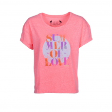 Fundango Indus Logo 43 T-shirt,top D (2TO10243_330-rose)