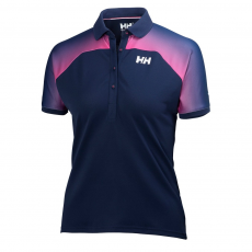 Helly Hansen W HP Polo T-shirt,top D (54364-o_689-Evening Blue)