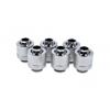 AlphaCool Eiszapfen 13 / 10mm szorítógyûrûs csatlakozó G1 / 4 - Chrome Sixpack