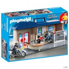 Playmobil aktatáska Estación de Policía Playmobil City Action gyerek