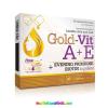OLIMP LABS Gold-Vit A+E, 30 db kapszula Ligetszépe olaj 550 mg, Biotin, Ízületi gyulladás, fekélyek, fájdalmas menstruáció - Olimp Labs