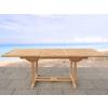 Beliani Kerti asztal - akácfa asztal - kihúzható - JAVA