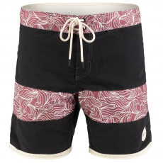 O'Neill PM GRINDER PATTERN BOARDSHORT Beach short,fürdőnadrág D (O-603160-o_9010-Black out)