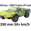 WLtoys A969 -Trophy Truck Off Road RC autó: 290 mm hossz, 50+ km/h!