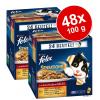 FELIX Sensations aszpikban 48 x 100 g - Hal-választék