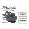 Printex ZH6 1soros árazógép / Motex árazógépcímke