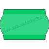 25×16mm zöld árazócímke / kétsoros árazószalag