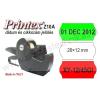 Printex Z10A alfanumerikus dátumozó / cikkszámozó gép