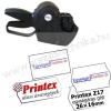 Printex 2 soros PRINTEX Z17 egységáras árazógép kétsoros 10+7 karakter