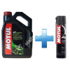 Motul 5100 4T 10W-50 4L + Motul Road Plus lánckenő spray