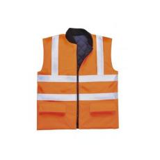 S469 - Jól láthatósági kifordítható mellény - narancs