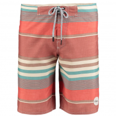 O'Neill PM Santa Cruz Stripes Boardshort Beach short,fürdőnadrág D (O-603156-o_3900-Red Aop)