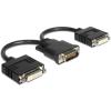 DELOCK Adapter DMS-59 male > 2 x HDMI female 20cm (65280)