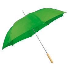 Automata ernyõ fa nyéllel, zöld (Automata esernyõ, egyenes fa fogantyúval és fém csúccsal sokféle)