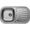 LIVINOX EC153K natúr egymedence csepptálcás mosogató