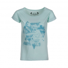 Fundango Tara Logo 44 T-shirt,top D (2TO10144_558-aqua green)