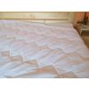Vékony nyári paplan 135x200 cm antiallergén műszál töltettel, fehér