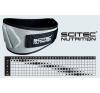 Scitec Nutrition Öv Scitec - Extra Support szürke/fekete S Scitec Nutrition fitness öv