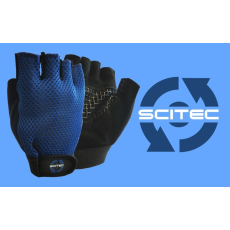 Scitec Nutrition Kesztyű Basic Blue férfi kék S Scitec Nutrition