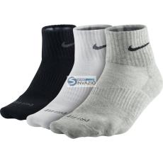 Nike zokni Nike Dri-FIT Non-Cushion Quarter 3pak SX4847-901