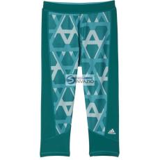 Adidas nadrág Edzés adidas 3/4 Techfit Capri Print 1 W AI2954