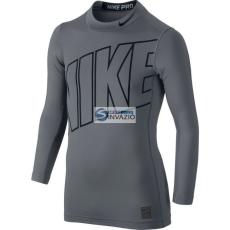 Nike Póló termolépés▶ywna Nike Hyperwarm Comp Jr 743419-065