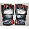 Sport Masters Kesztyű szabad harc MASTERS GF-100 fekete-piros