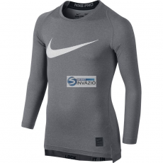 Nike Póló termolépés▶ywna Nike Pro Cool HBR Compression Long Sleeve Top Junior 726460-091