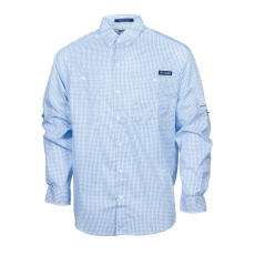 Columbia Super Tamiami Ls Shirt Ing D (1438941-o_489-Static Blue)