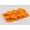 Narancs szelet szilikon jégkocka készítő