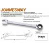 Jonnesway Profi Racsnis Csillag-Villáskulcs 14mm