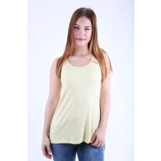 Impresszió Sárga elől rövid hátul hosszabb laza trikó