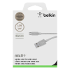 Belkin cable MIXIT UP Metallic Micro-USB to USB silver