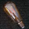 Life Light Led Dimmelhető Retro LED körte égő E27 (4Watt/300°) COG LED izzószálas, üveg búra, extrameleg fehér, retro izzó led