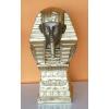 Fáraó-32cm-mellszobor talapzaton/bronz-arany