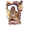 Buddha-kínai-Boldog-gyerekkel/békával