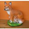 Róka-kis rókákkal