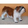 Kutya-Angol bulldog-álló/37cm