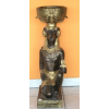 Egyiptimi isten-Hnum-térdelő/virágtartó-74 cm/ba