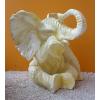 Elefánt-ülő/fehér
